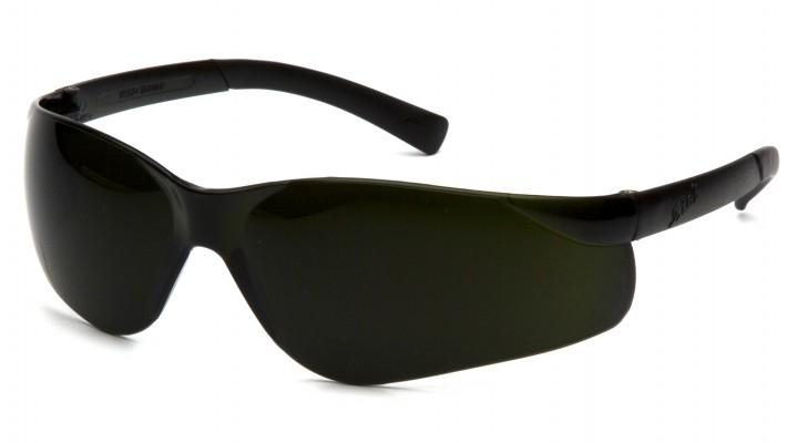 5.0 IR Lens with Green Tinted Temples