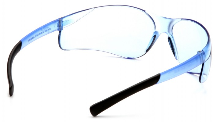 14fa39036c Infinity Blue Lens with Infinity Blue Temples - Pyramex Safety