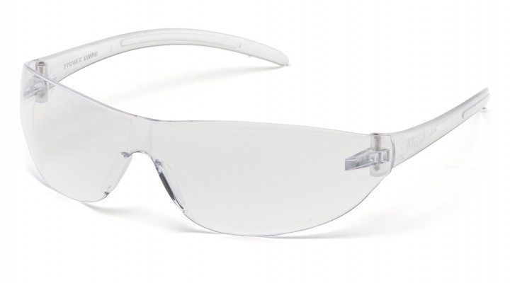 Clear Lens with Clear Temples