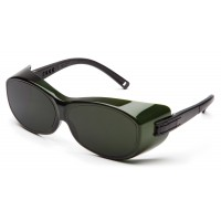 5.0 IR Filter Lens with Black Temples