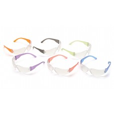 Clear Lens with Assorted Temple Colors
