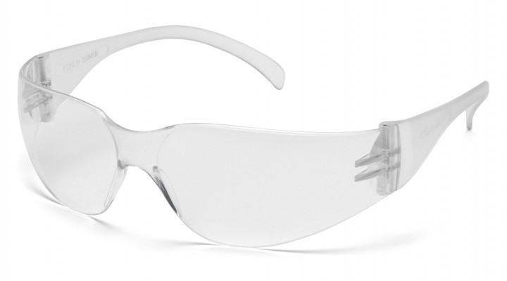 Uncoated Clear Lens with Clear Temples