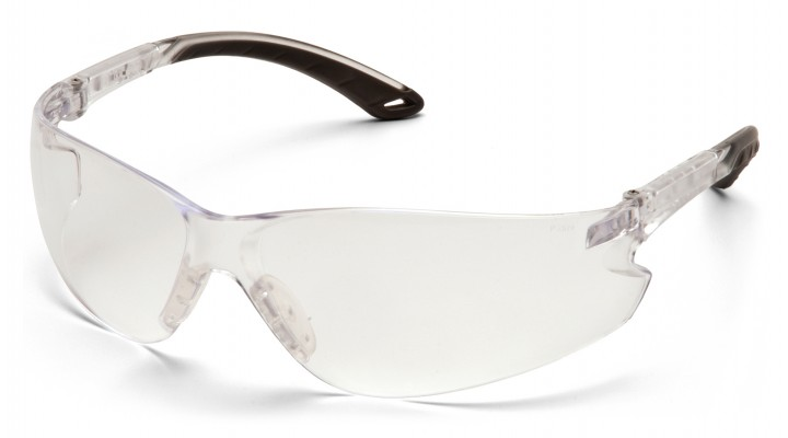 Clear Lens with Clear Adjustable Temples