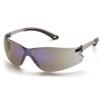 Blue Mirror Lens with Gray Temples