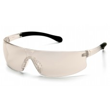 Indoor/Outdoor Mirror Anti-Fog Lens with Clear Temples