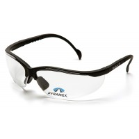 Clear +2.5 H2X Anti-Fog Lens with Black Frame