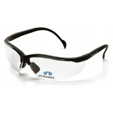 Clear +2.0 H2X Anti-Fog Lens with Black Frame