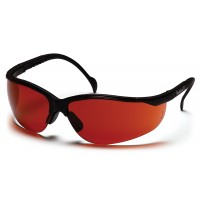 Sun Block Bronze Lens with Black Frame