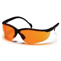 Orange Lens with Black Frame