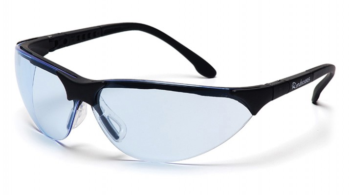 Infinity Blue Lens with Black Frame