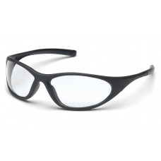 Clear Lens with Matte Black Frame