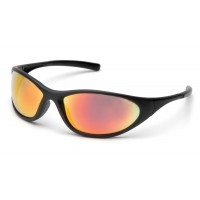 Ice Orange Mirror Lens with Matte Black Frame