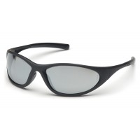 Silver Mirror Lens with Matte Black Frame