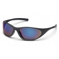 Blue Mirror Lens with Matte Black Frame