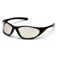 Indoor/Outdoor Mirror Lens with Matte Black Frame