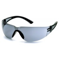 Gray H2X Anti-Fog Lens with Black Temples
