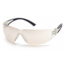 Indoor/Outdoor Mirror Lens with Black Temples