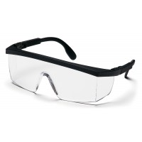 Clear Lens with Black Ratchet Frame