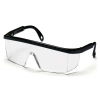 Clear Anti-Fog Lens with Black Frame