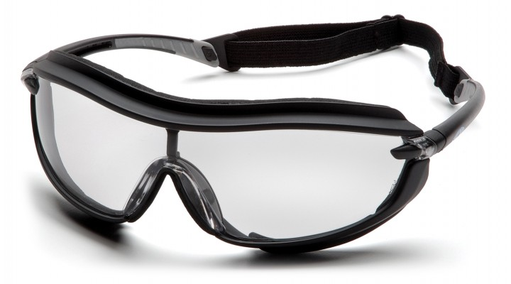 Clear H2X Anti-Fog Lens with Black Frame