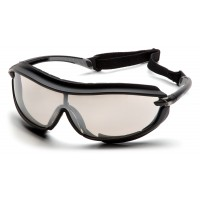 Indoor/Outdoor Mirrror Anti-Fog Lens with Black Frame