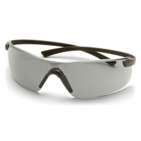 Silver Mirror Lens with Black Flex-Lite Temples