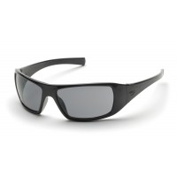 Gray H2X Anti-Fog Lens with Black Frame