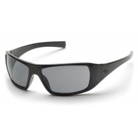 Gray Polarized Lens with Black Frame