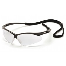 Clear Anti-Fog Lens with Black Frame and Cord