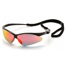 Ice Orange Mirror Lens with Black Frame and Cord