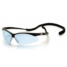 Infinity Blue Lens with Black Frame and Cord