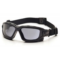 Gray Dual Pane H2X Anti-Fog Lens with Black Temples/Strap