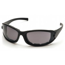 Gray Anti-Fog Lens with Matte Black Frame/Strap