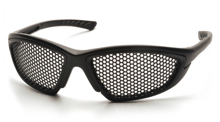 Punched Steel Lens with Black Frame