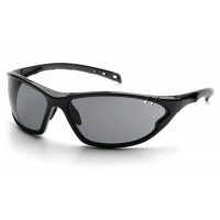 Gray Polarised Lens with Black Frame