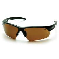 Sandstone Bronze Lens with Black Frame