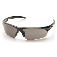 Gray Anti-Fog Lens with Black Frame