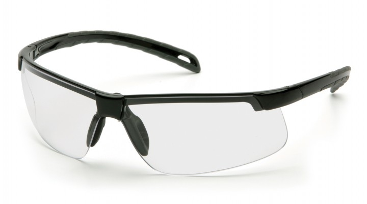 Clear H2MAX Anti-Fog Lens with Black Frame