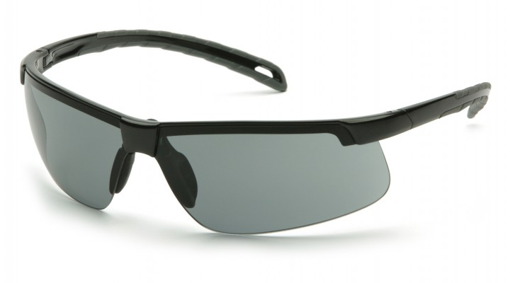 Gray H2MAX Anti-Fog Lens with Black Frame