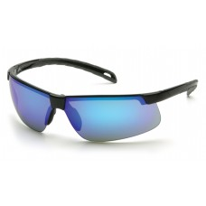 Ice Blue Mirror Lens with Black Frame