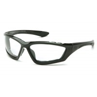 Clear Anti-Fog Lens with Padded Black Frame