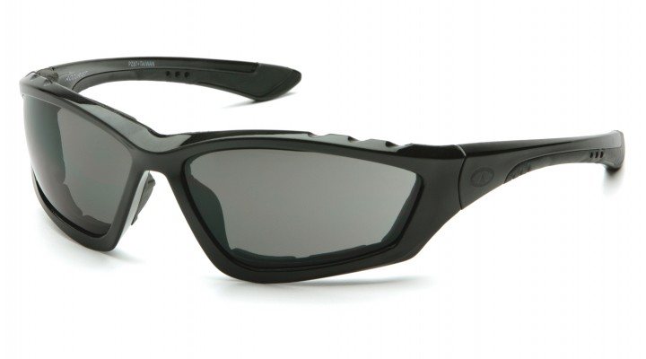 Clear Anti-Fog Lens with Padded Black Frame SB8710DTP Pyramex Safety Glasses