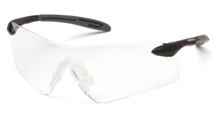 Clear Lens with Black/Gray Temples