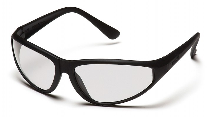 Clear Lens with Black Frame
