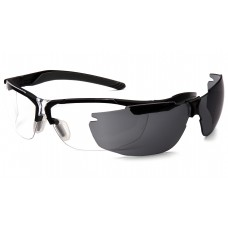 Clear Lens with Black Frame, PLUS Gray replacement lens