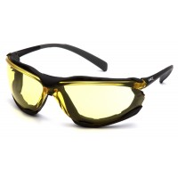 Amber H2X Anti-Fog Lens with Black Frame