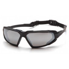 Silver Mirror Anti-Fog Lens with Black Frame