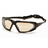 Indoor/Outdoor Mirror Anti-Fog Lens with Black Frame