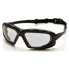 Clear H2X Anti-Fog Lens with Black/Gray Frame