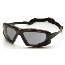 Gray Anti-Fog Lens with Black/Gray Frame